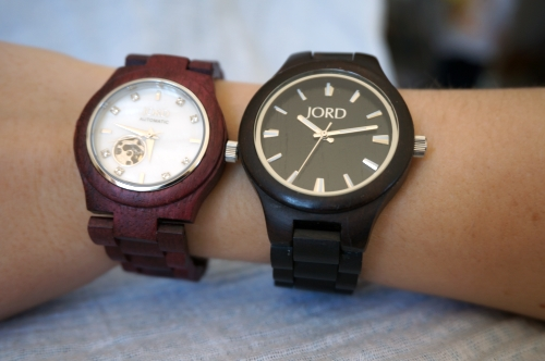 JORD wood watch Cora and Fieldcrest side by side comparison | AwayFromBlue