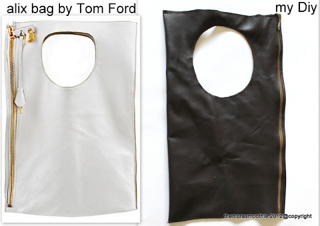 craft, alix bag, alix fai da te, borsa tom ford fai da te