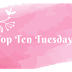 Top Ten Tuesday: Cosy Reads for Winter (Blogmas Day 4)