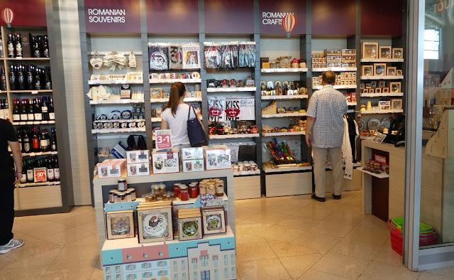 Duty Free Shop am Flughafen Sibiu