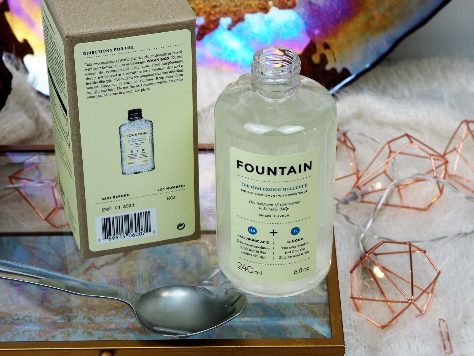 The Hyaluronic Molecule from FOUNTAIN