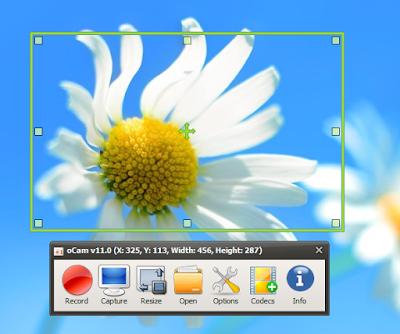 免費螢幕錄影工具 oCam幫你完成電腦螢幕錄音效