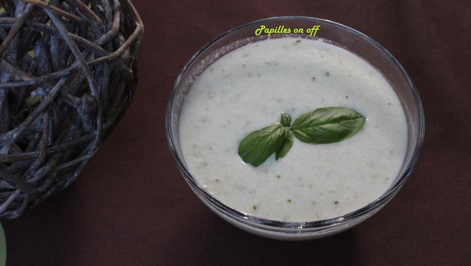 Soupe froide de concombre au basilic au thermomix ou sans papilles on off - Soupe de brocolis thermomix ...
