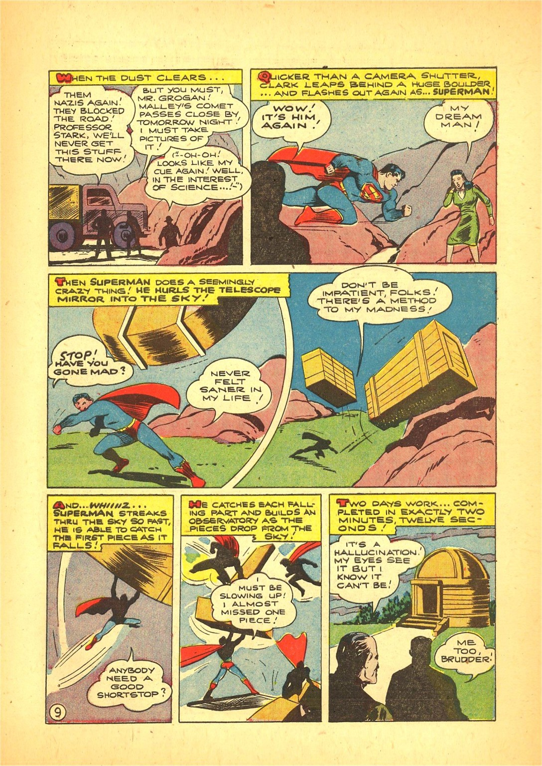 Read online Action Comics (1938) comic -  Issue #72 - 10