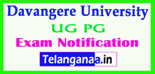 Davangere University UG PG Dec 2018 Exam Notification