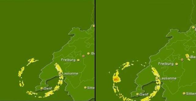 Mysterious Weather Radar Anomalies Over Switzerland Video