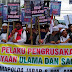Demo Bela Ulama Kembali Ramaikan Bandung