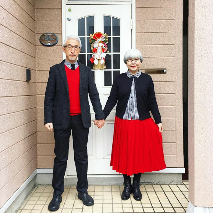 #1 - This Couple Married For 37 Years Always Dress In Matching Outfits