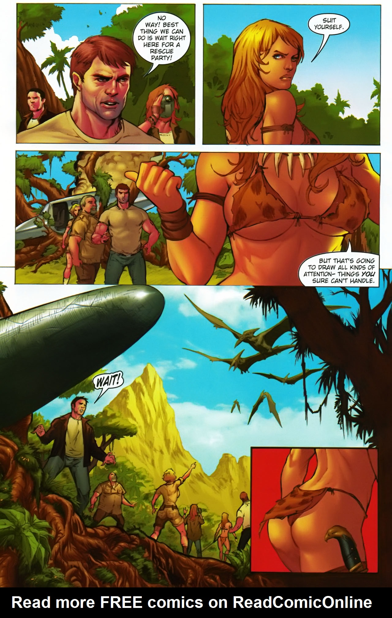 Read online Jungle Girl comic -  Issue #1 - 12