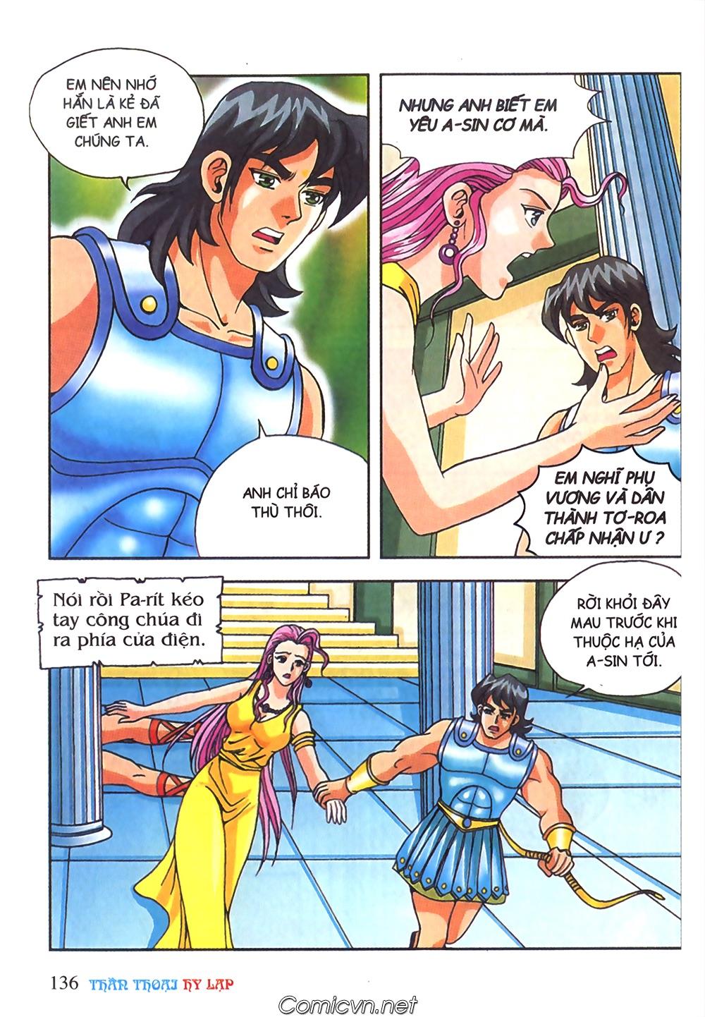 Thần Thoại Hy Lạp Màu - Chapter 65: Gót chân A sin 2 - Pic 19