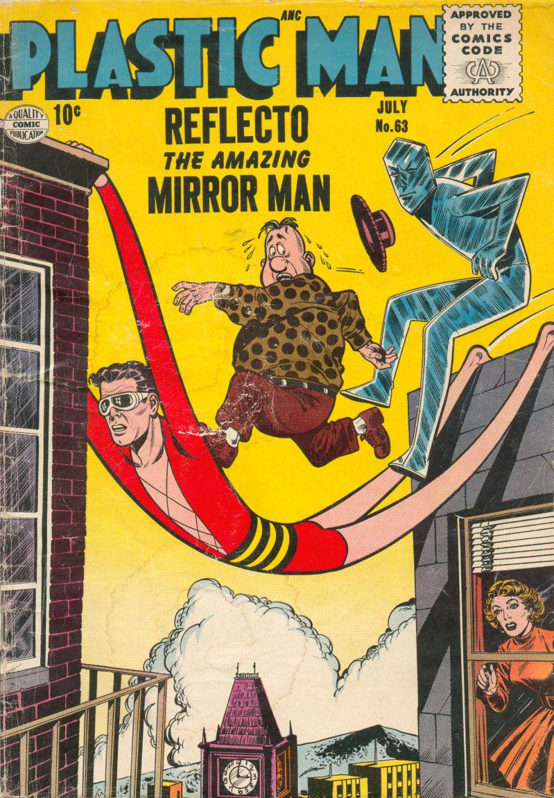 Plastic Man (1943) 63 Page 1