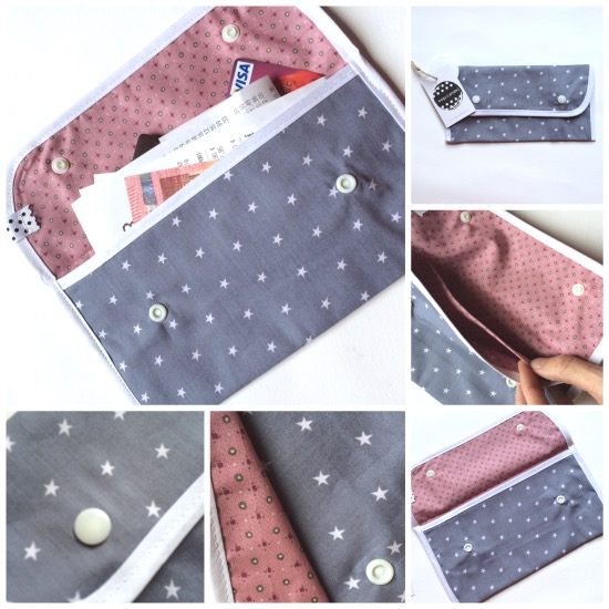 maguiandmi costura facil diy sewing handmade monedero portadocumentos