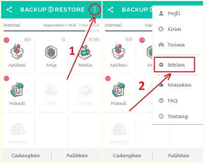 cara backup aplikasi pada hP android dengan mudah tanpa root