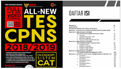 Download Pembahasan Soal All New Tes CPNS 2018 Format pdf
