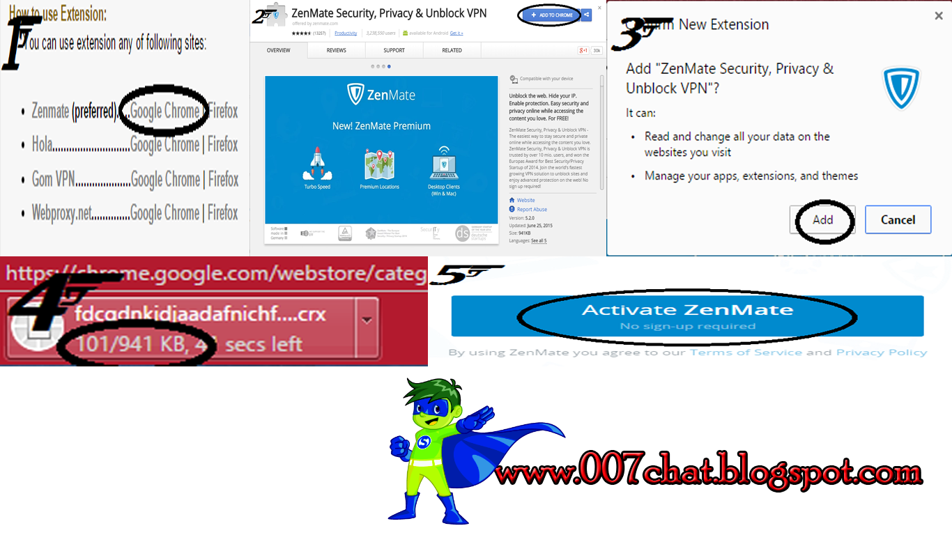 Open Blocked Website Without Using Any Software Chat