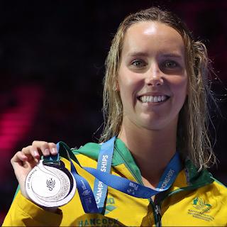 Australian gold-medal swimmer Emma McKeon