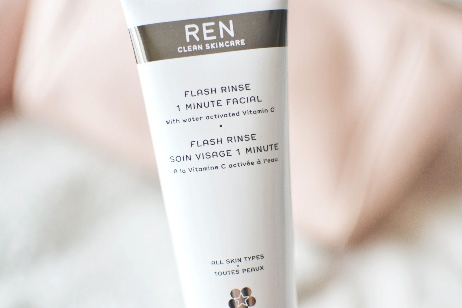 REN Flash Rinse 1 Minute Facial, REN Flash Rinse 1 Minute Facial review