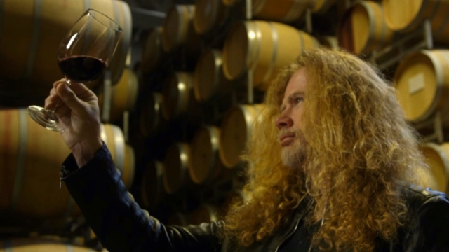 Dave Mustaine en Argentina vinos