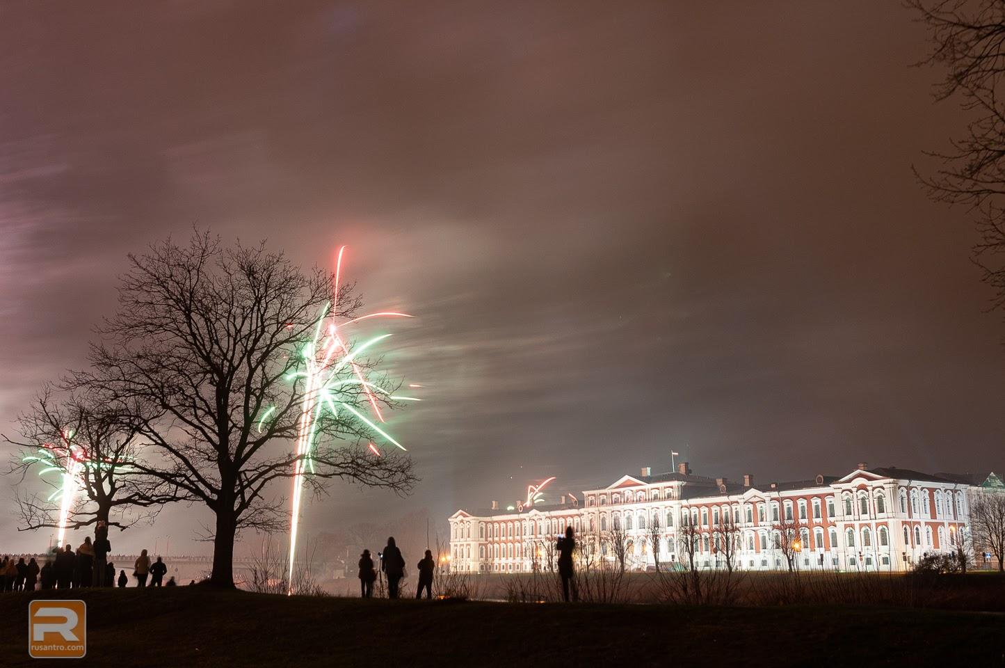 Uguņošana un salūts Jelgavā 18112019-21