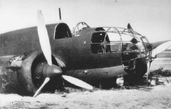 Polish Air Force worldwartwo.filminspector.com PZL P-37 crashed