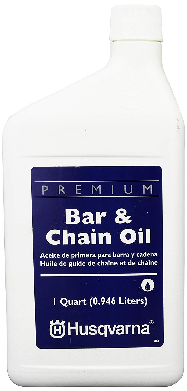What is the best bar and chain oil to use for a chainsaw