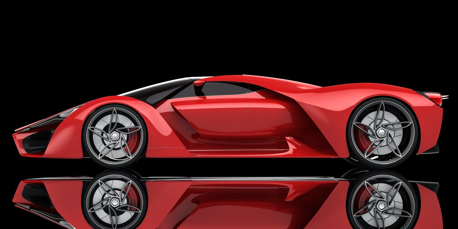 Ferrari Prepared Ferrari F80 Concept With 1 200 Horsepower
