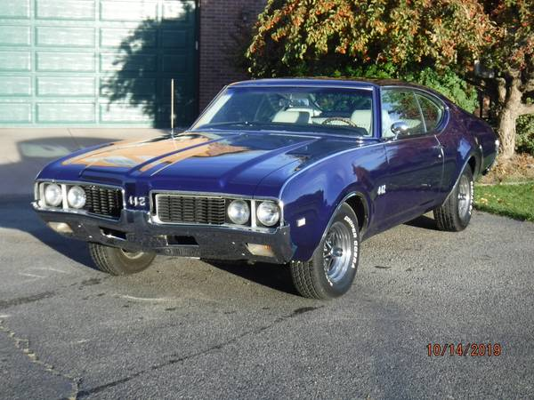 An Honest Old Muscle Car, 1969 Oldsmobile 442