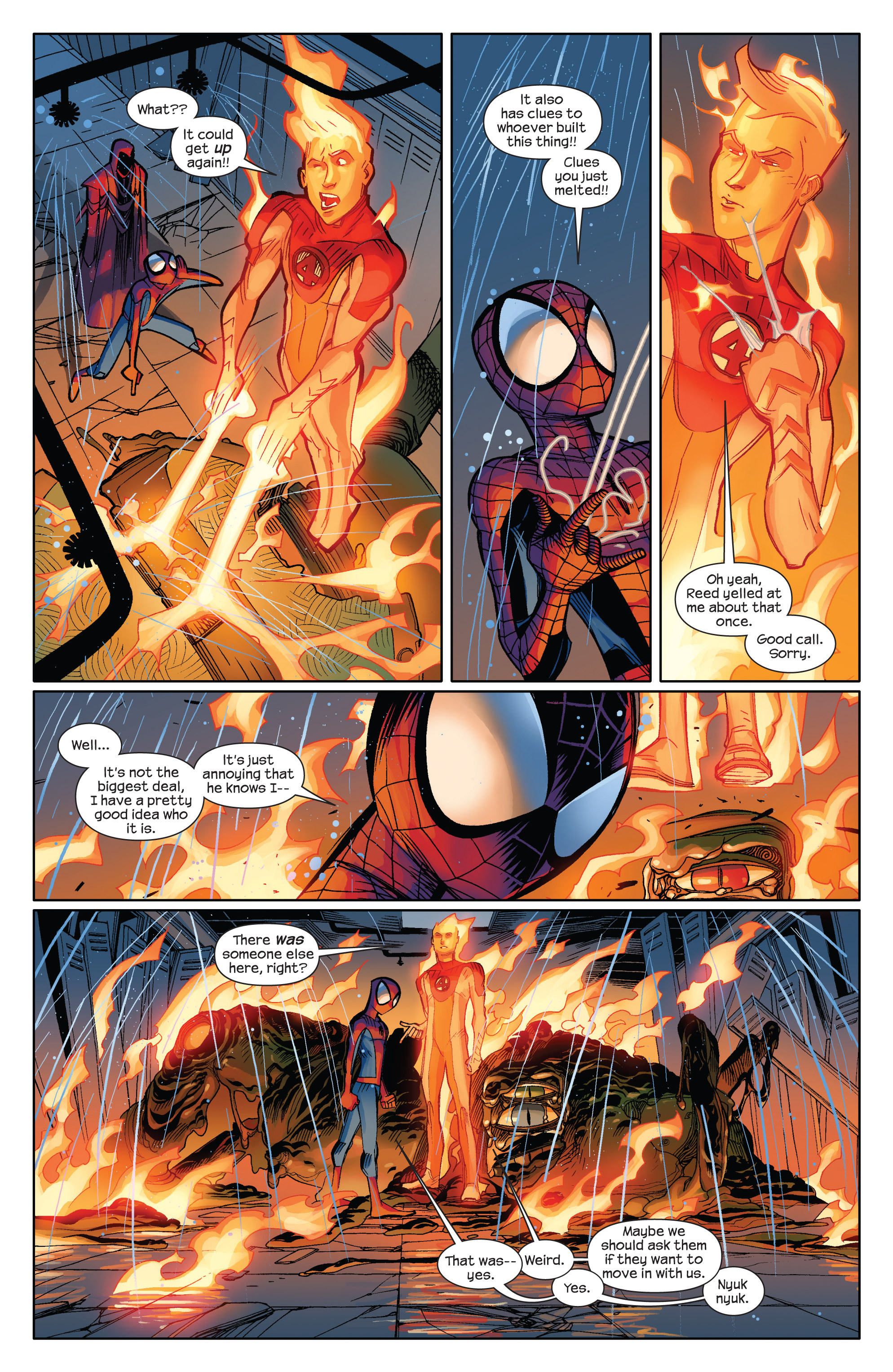 Read online Ultimate Spider-Man (2009) comic -  Issue #6 - 18