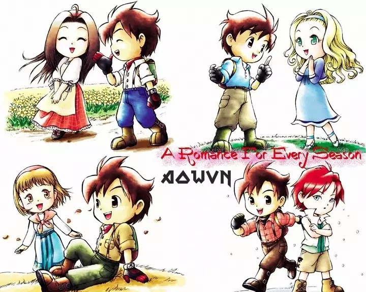 Harvest Moon AowVN.org m%2B%25284%2529 - [ GBA ] Harvest Moon Friend of Mineral Town + More Friend | Game Việt Hóa