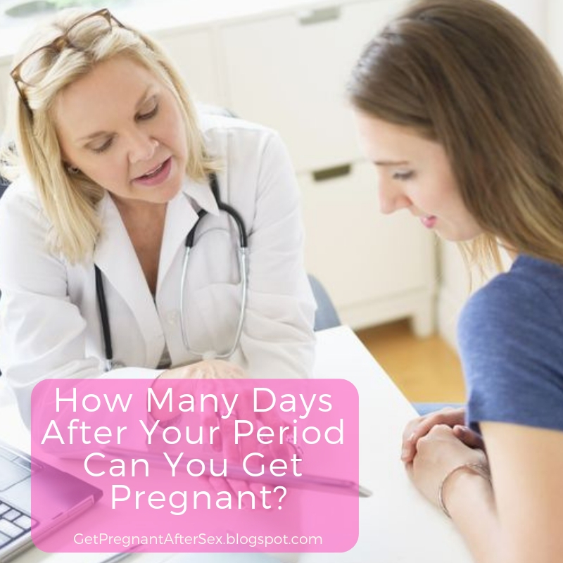 Could You Get Pregnant A Day After Your Period