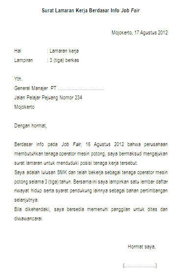 Contoh surat lamaran kerja activity truthful yang baik dan benar lowongan kerja pt industri nuklir indonesia contoh surat lamaran thecheapjerseys Images