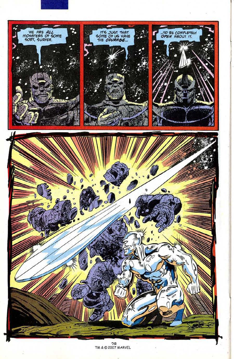 Read online Silver Surfer (1987) comic -  Issue #50 - 30