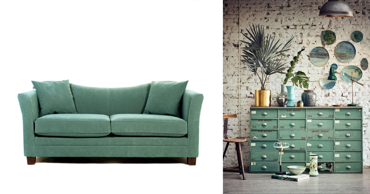 For Example, We Love Pairing Green Furniture With More Earthy Tones, Such  As Browns And Nude Pinks, As Not To Overpower A Room With Green.