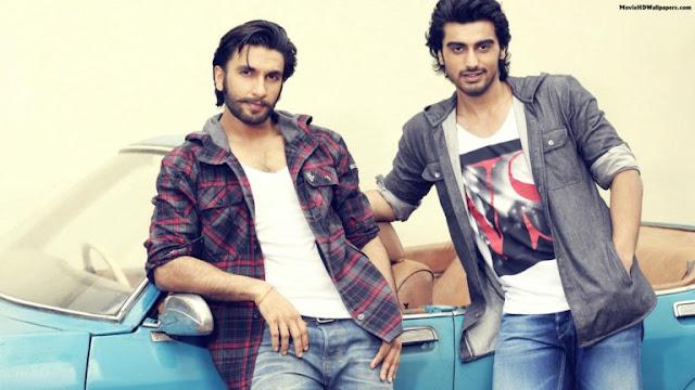 Ranveer Singh and Arjun kapoor Pictures
