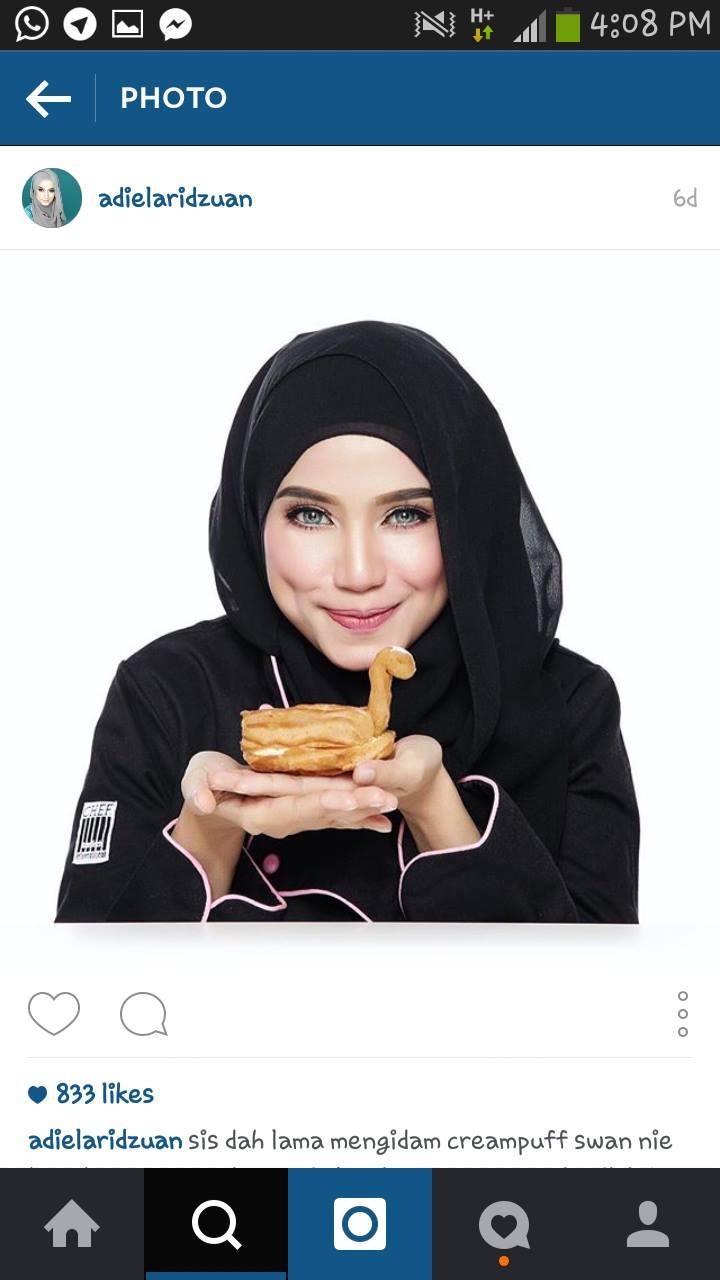 Model Muslimah Adiela Ridzuan Bakal Isteri Hafiz Hamidun
