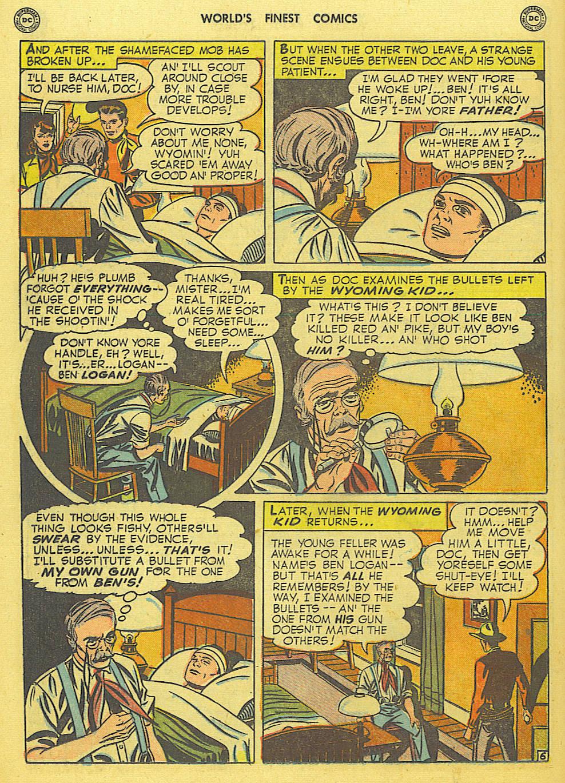 Read online World's Finest Comics comic -  Issue #49 - 45