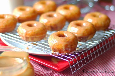 Baked Mini Churro Donuts - The Sweet Chick