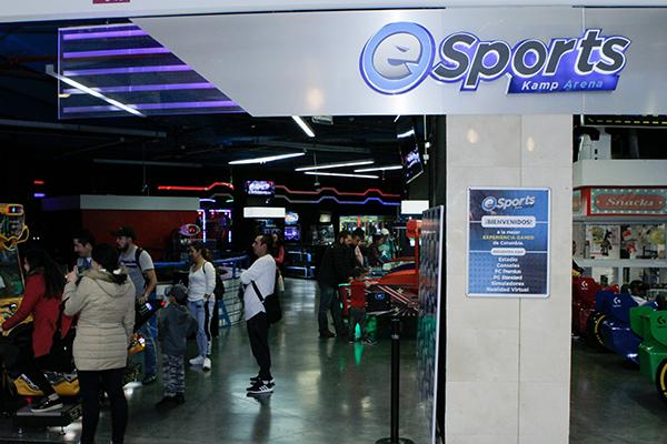 eSports-Kamp-Arena