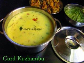 Thayir Kuzhambu