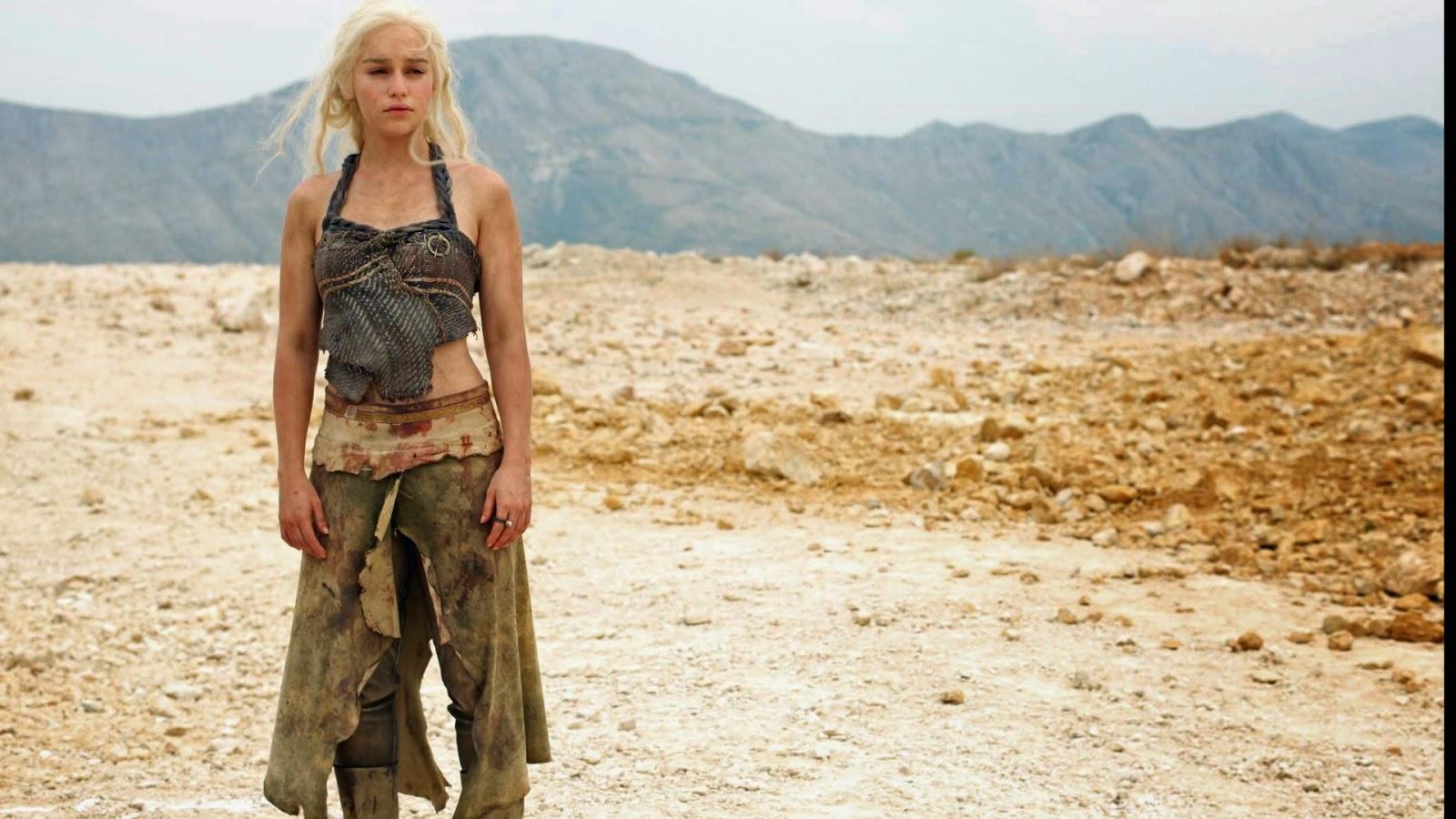 Unknown About Game Of Thrones: Emilia Clarke & Khaleesi HD