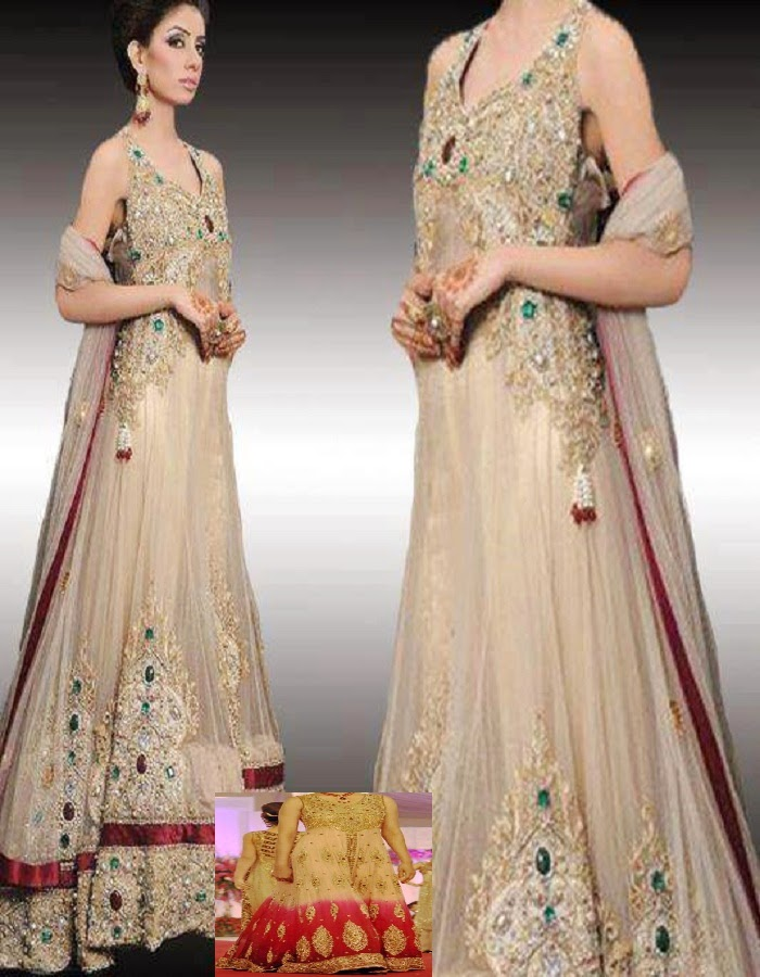 New Pakistani Bridal Dresses 2014 15 Just Bridal