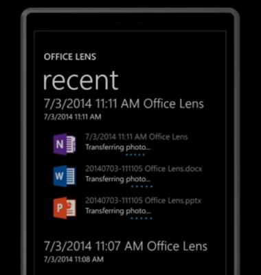 merubah foto Menjadi Teks menggunakan Office Lens