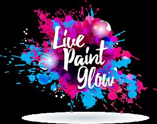 Live Paint Glow Logo
