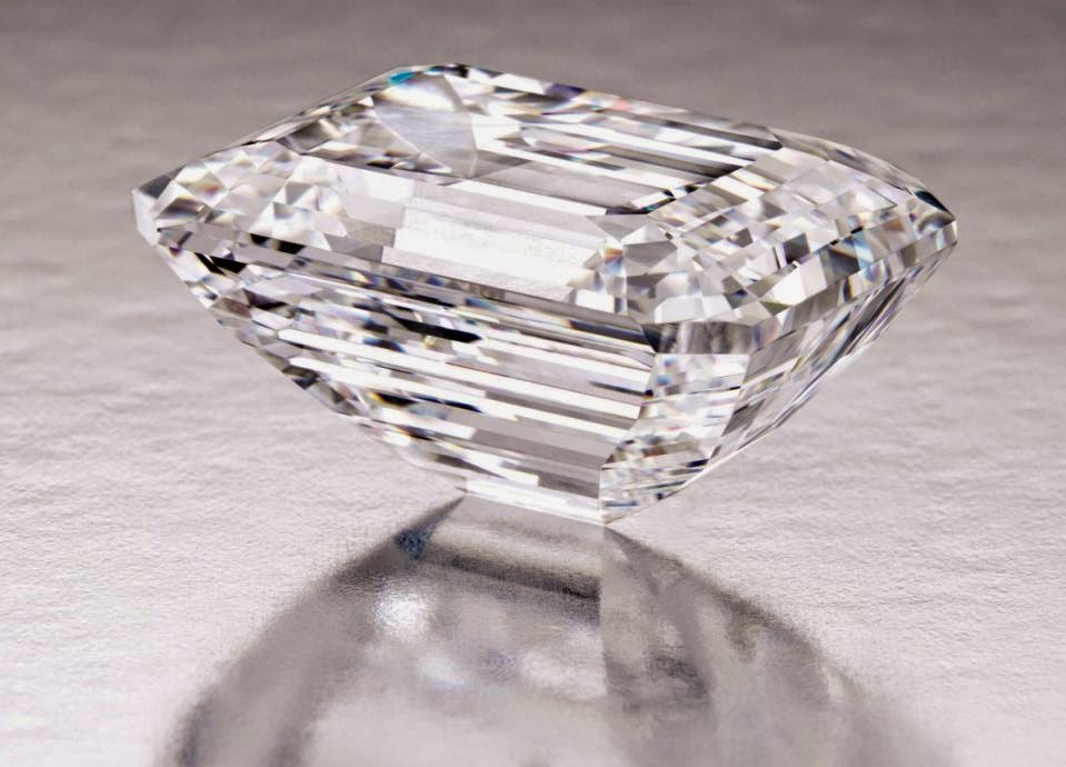 aa93f6ecf A 100.20-carat D color internally flawless Type IIa stone will be the top  lot of Sotheby's Magnificent Jewels auction in New York on April 21.