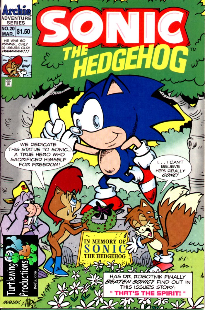 Read online Sonic The Hedgehog comic -  Issue #20 - 1