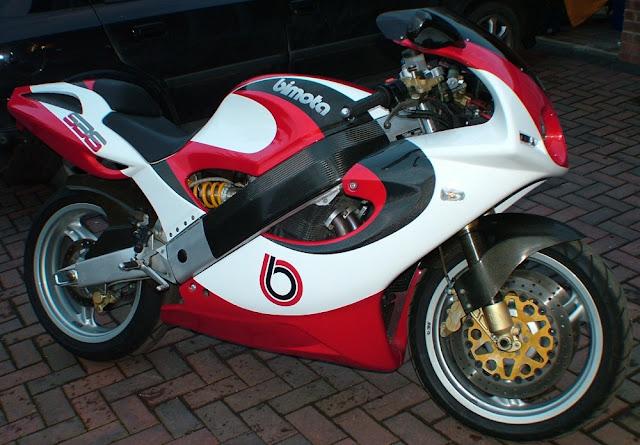 Bimota SB6 Italian modern classic motorbike