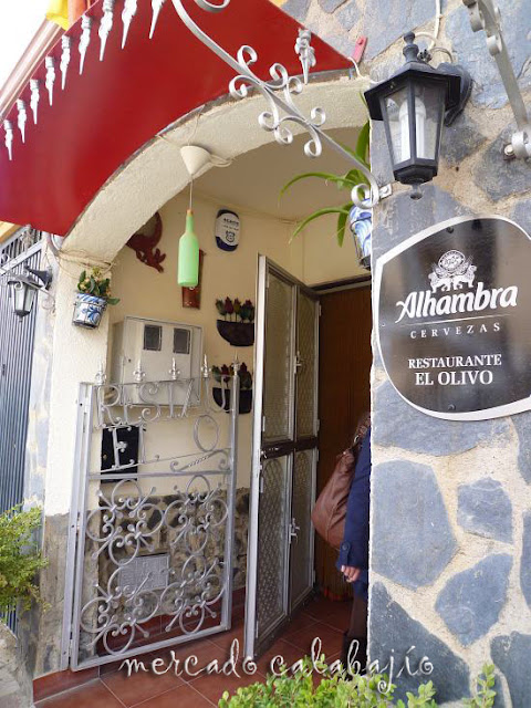 Restaurante El Olivo En Castillo De Tajarja Granada Mercado Calabajío