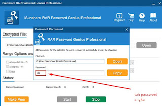 cara membobol password file rar