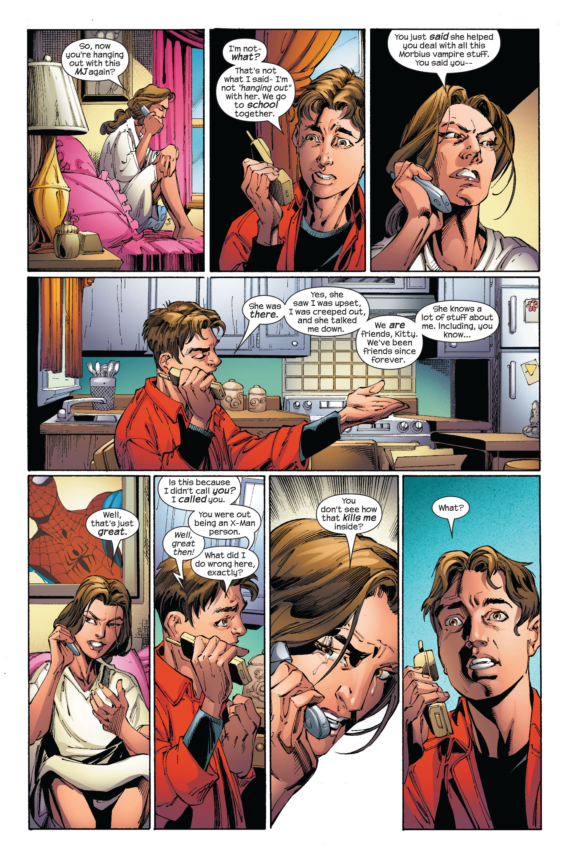 Read online Ultimate Spider-Man (2000) comic -  Issue #97 - 4