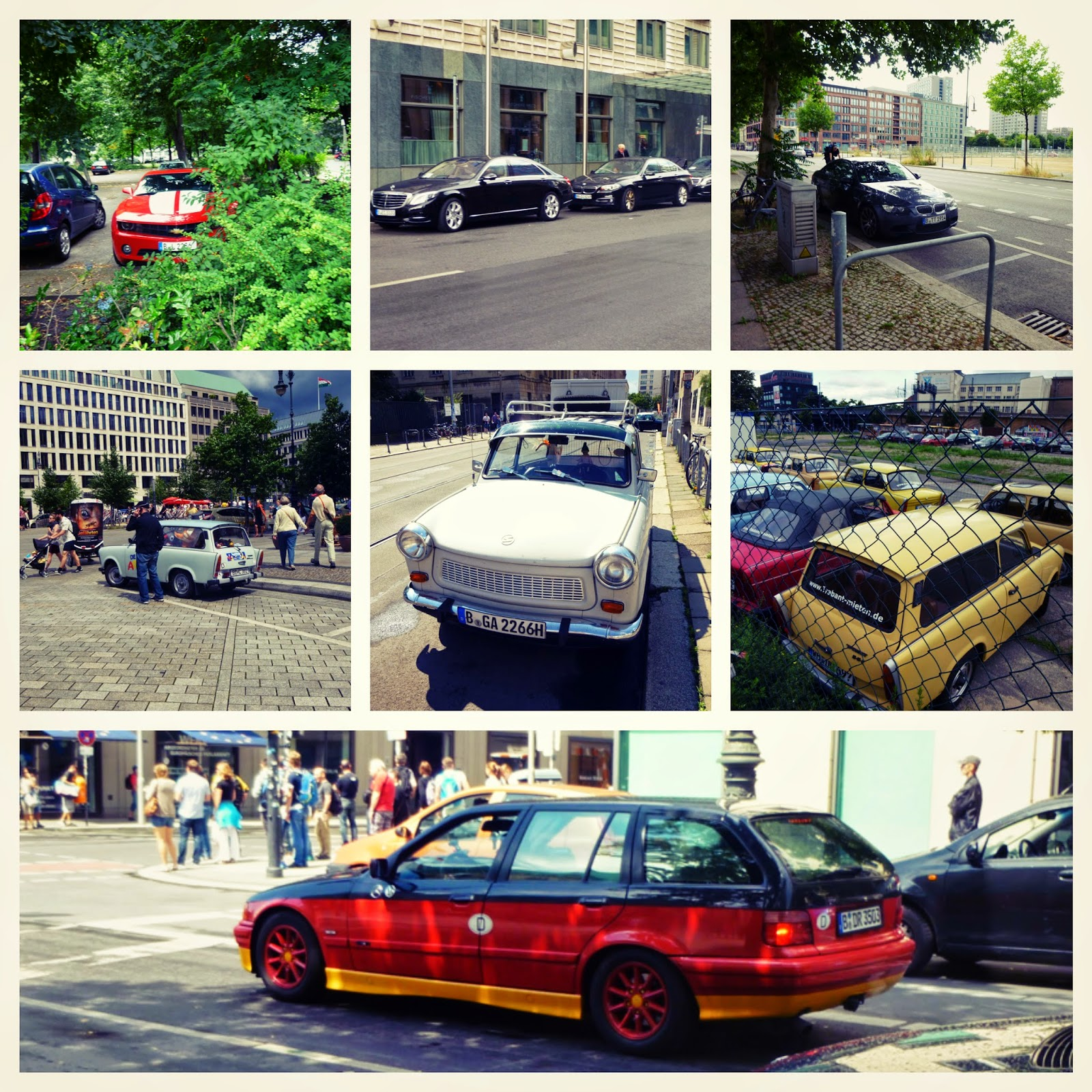Cool cars in Berlin
